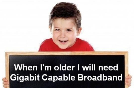 gigabit child
